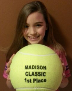 Madison Tennis Tournament Trophy